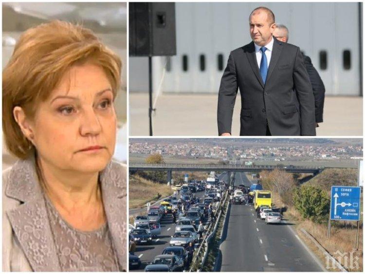 """Менда Стоянова: Ако изтегля предложението си, """"Гражданска отговорност"""" ще скочи"""
