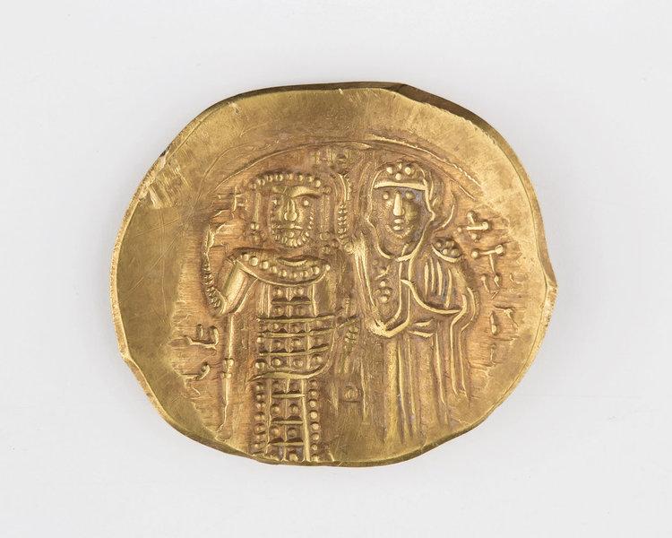 Златната монета от Лютица