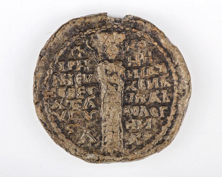 Печатът, открит на Лютица