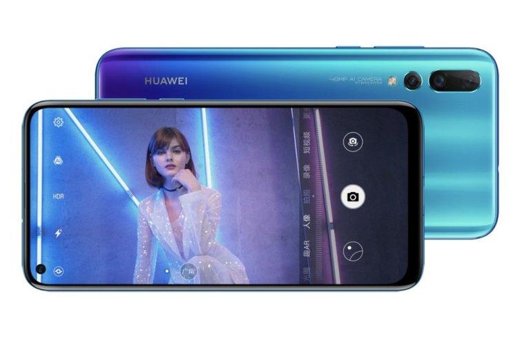 Huawei представи смартфона Nova 4 с малък отвор и 48 МР камера