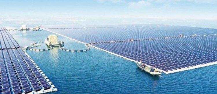 Плаващата слънчева електроцентрала от 40MW в Huainan, Китай, е най-голямата в света. Сн.: Sungrow Power Supply