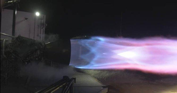 Новият двигател на SpaceX достигна мощността за полет до Марс