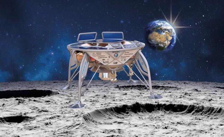 SpaceX изстреля частен израелски космически кораб към Луната (видео)