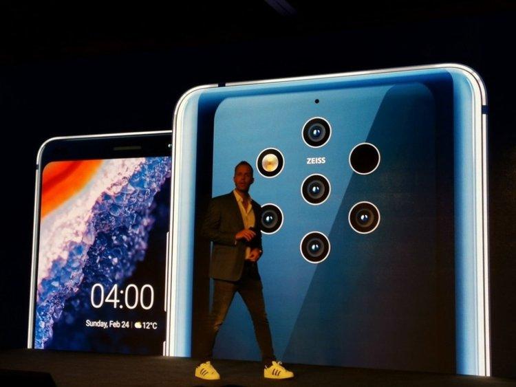 Официално: Nokia 9 PureView – революционен дизайн с 5 камери