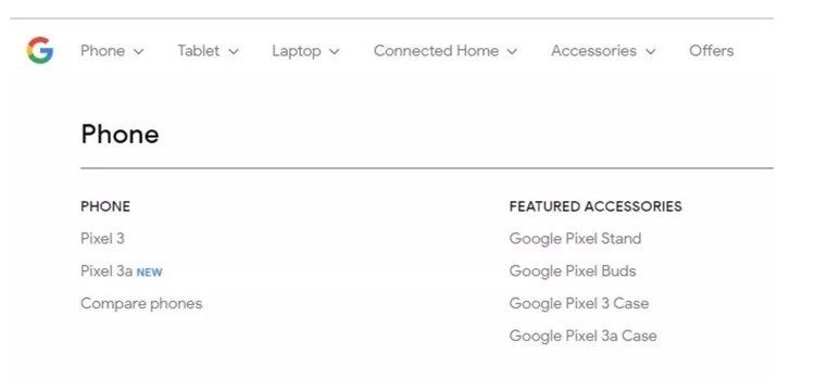 Собственият уебсайт на Google току-що потвърди Pixel 3a