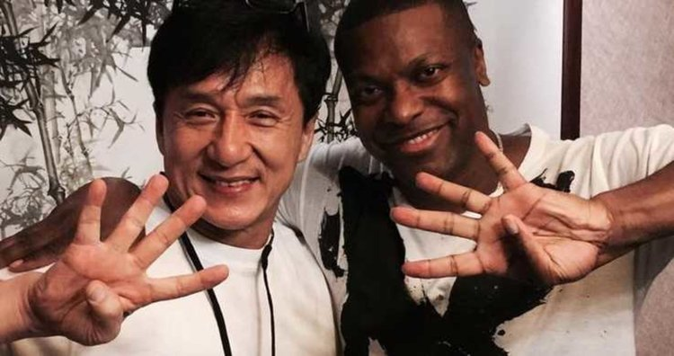 """Джеки Чан и Крис Тъкър намекват за """"Час пик 4"""""""
