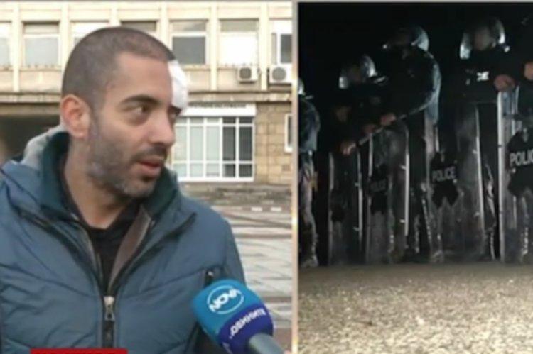 Журналист пострада на блокада в Габрово