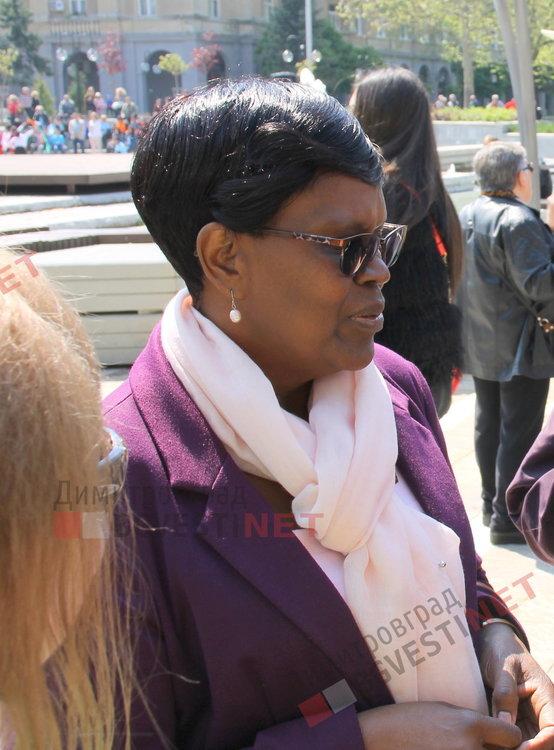 представителят на УНИЦЕФ в България, д-р Джейн Муита