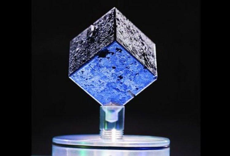 Този куб уран някога е бил част от опит за изграждане на ядрен реактор в нацистка Германия, съобщават изследователите. Кредит: John T. Consoli/Univ.of Maryland