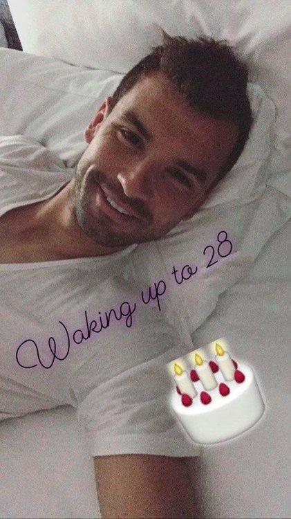 Григор Димитров: Събудих се на 28!