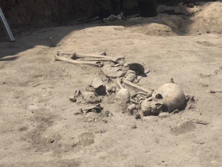 Находка на годината: Скелет на 7600 години в столичния кв. Слатина