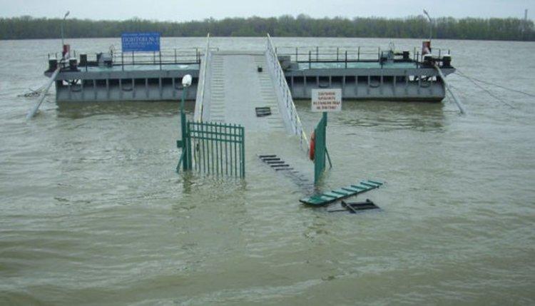 """Първа степен на опасност"" заради нивото на река Дунав"