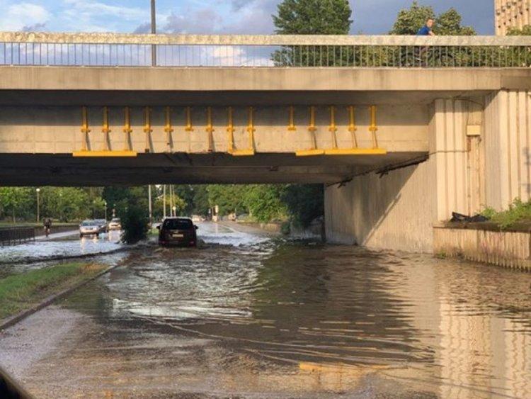 Отново порой и наводнение в Пловдив