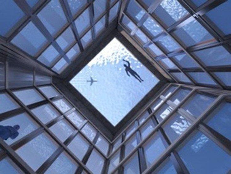 Лондон ще се сдобие с първия в света инфинити басейн с 360-градусова гледка