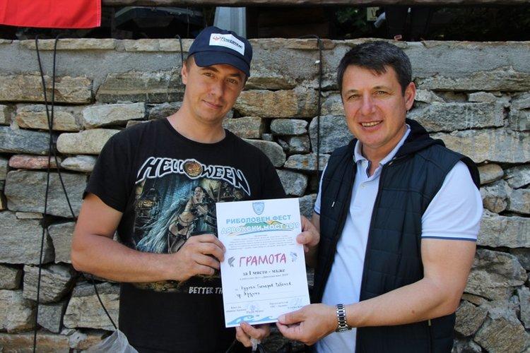 Нурхан Чобанов спечели риболовното състезание край Дяволския мост
