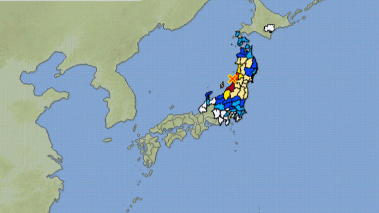 Предупреждение за цунами след земетресение 6,8 по Рихтер в Япония