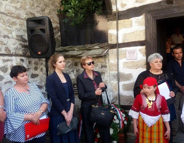 Внучката и снахата на унгарския поет бяха гости на официалната церемония в Смолян
