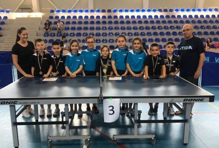13 медала завоюваха момчилградските тенисисти на Държавно първенство
