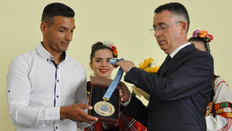 """Голмайсторът на ПФК""""Арда"""" Ахмед Осман е новият почетен гражданин на Кърджали"""