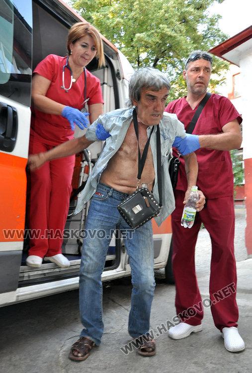 Почерпен вдигна на крак полицаи и медици в Хасково