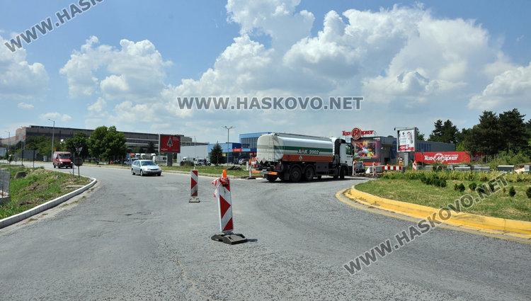 Пътните ремонти край Хасково до края на юни и реорганизация в движението