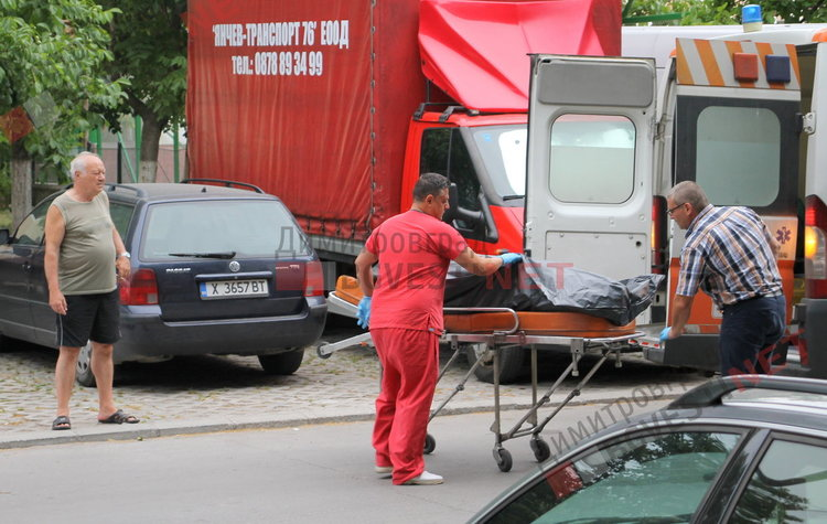 Мъж се хвърли от 5-ия етаж в Димитровград
