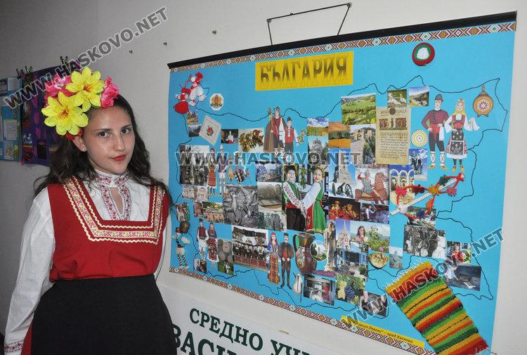 Ученици показаха красотата на Европа в изложба от колажи