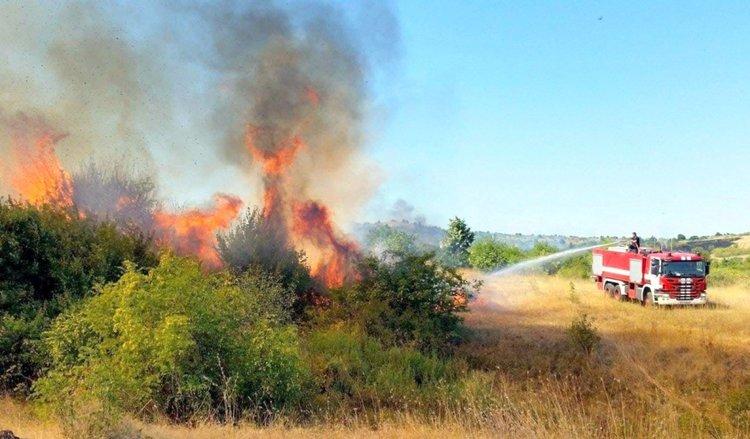 Димитровградчанин в ареста за пожар - изгорял е покрив и 75 декара