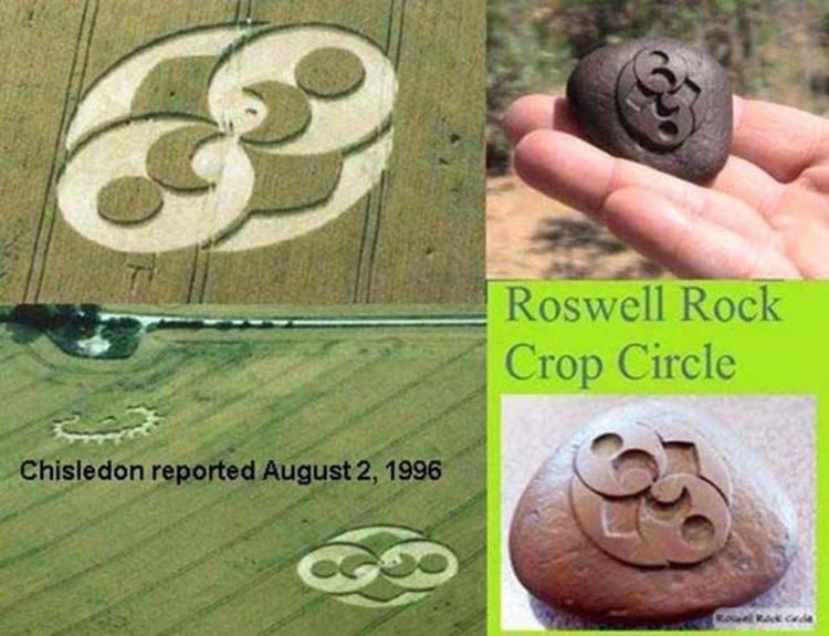 Древните извънземни: Загадките на Розуелския камък (видео)