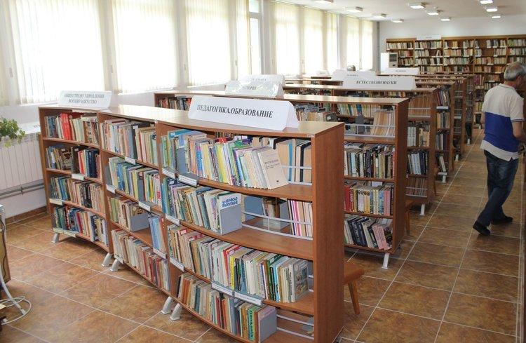 Безплатни читателски карти предоставят в библиотеката в Димитровград
