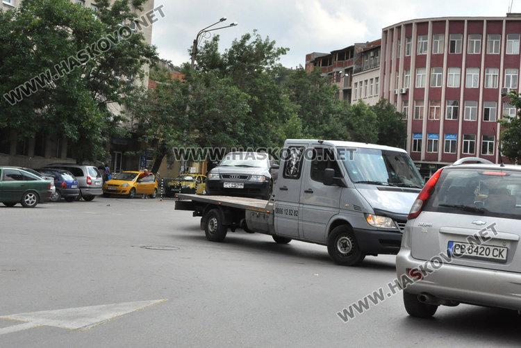 Видински автовоз отпраши в насрещното край реката в Хасково