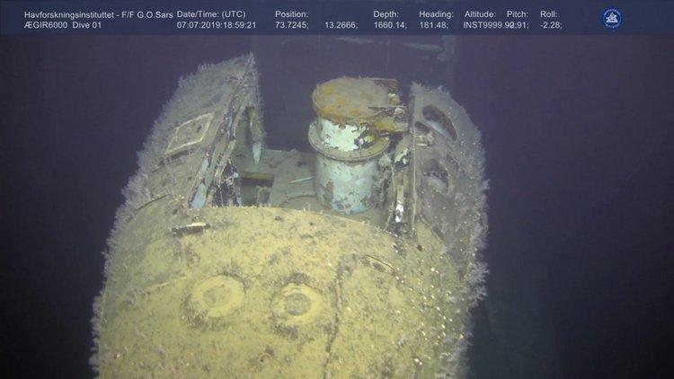 Радиация 800 хиляди пъти над нормата около потънала съветска подводница (видео)
