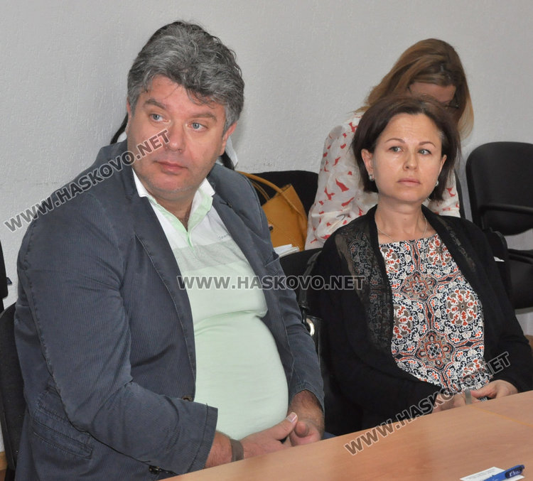 """Представителите на ДЗЗД """"Планконсулт Хасково"""""""