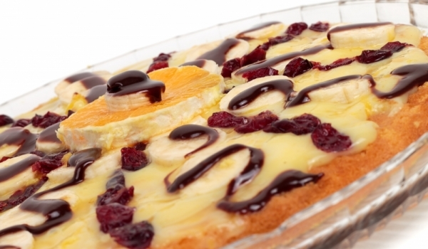 Торта с банани
