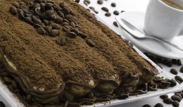 Какаова торта с бишкоти