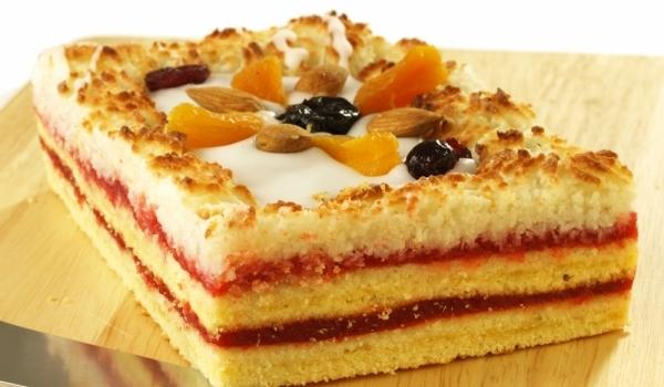 Торта с мармалад