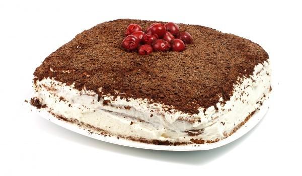 Лесна домашна торта без печене