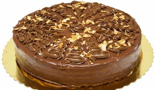 Торта Гараш със сметанов крем