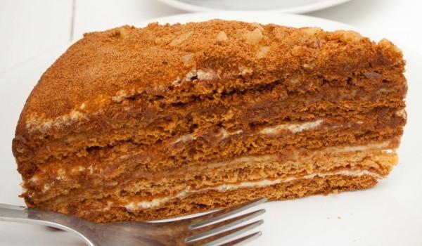Домашна медена торта
