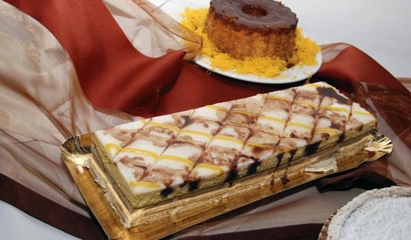 Желирана бисквитена торта