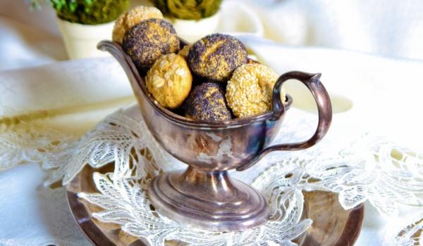 Украински бисквити с макова заливка