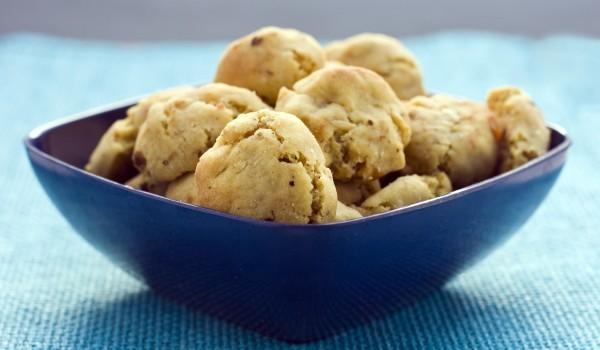 Американски бисквити с бял шоколад