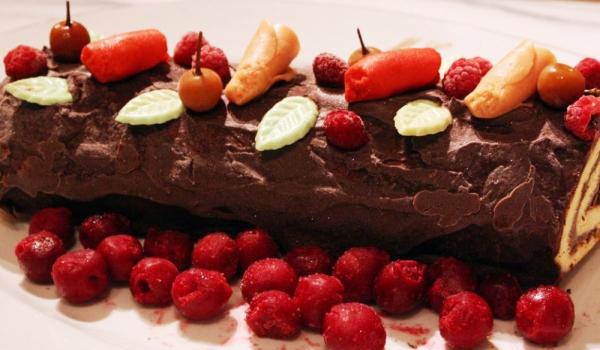 Коледно шоколадово руло