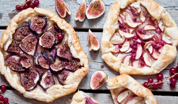 Отворени пайове със смокини