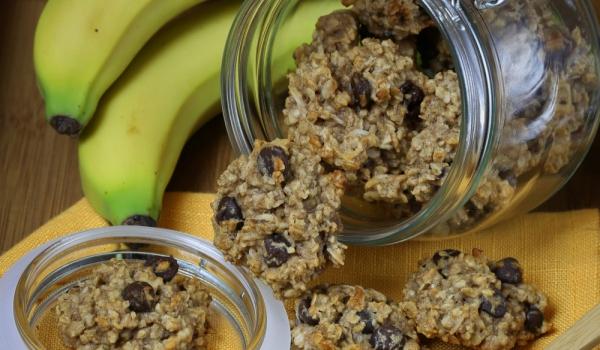 Бисквити с мюсли и банан