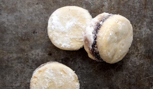 Слепени сладки с шипков мармалад