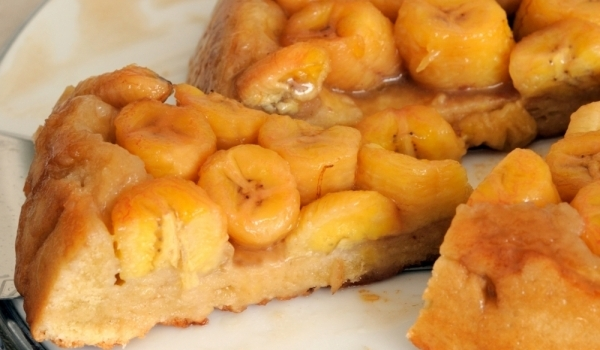 Карамелено-бананов тарт