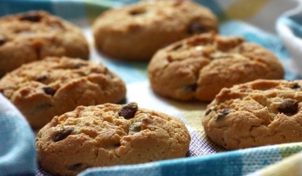 Фини бисквити с натурален шоколад и лешници