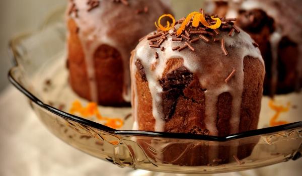 Шоколадови кексчета в портокал