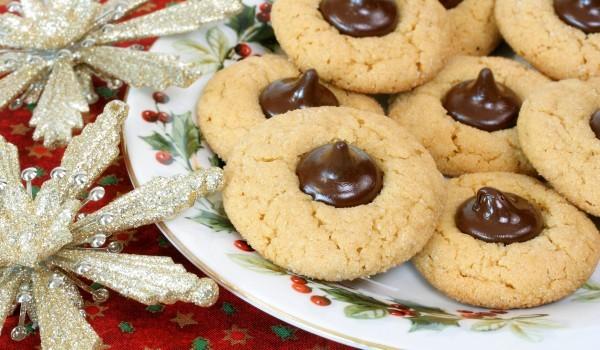 Бързи бисквити с течен шоколад